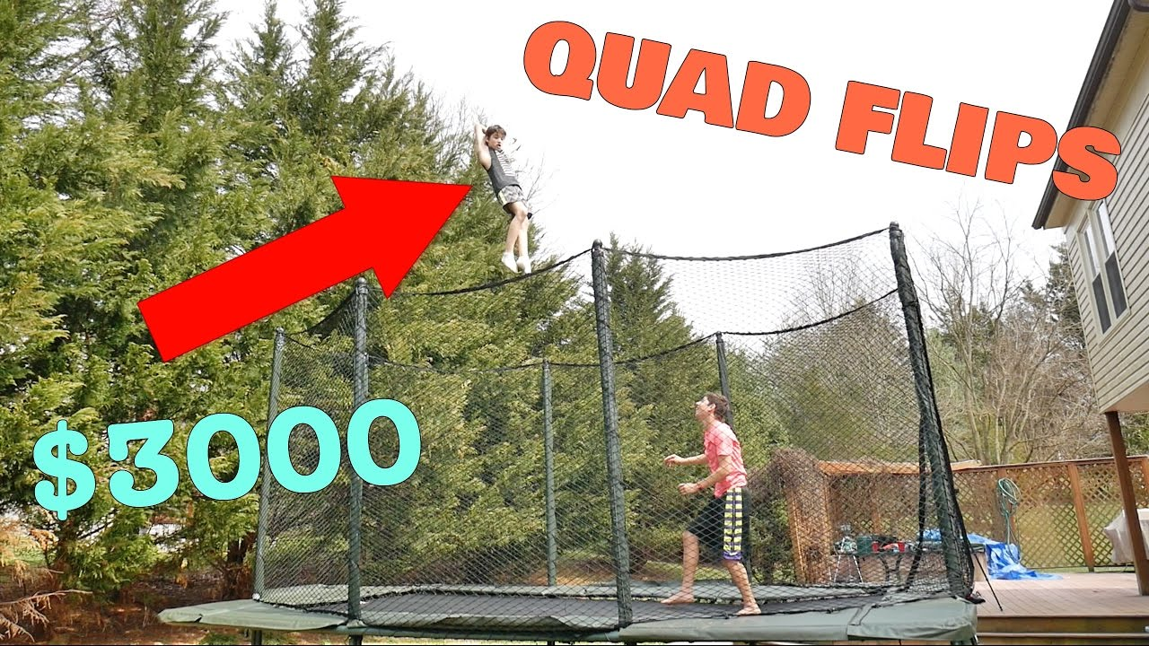 BUYING THE WORLD'S BOUNCIEST TRAMPOLINE!