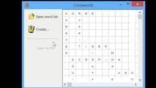 Crosswords - How to create half-a-crossword ESL activities