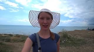 06.08.19 Пляж в Волне. Уют Тамани.  А где же дождь?