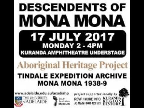 mona mona aboriginal heritage project - university of adelaide - tindale   amphitheatre