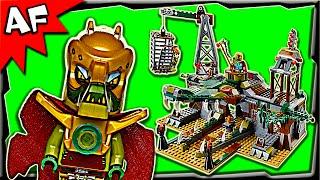 Lego Chima Croc Swamp Hideout 70014 Stop Motion Build Review