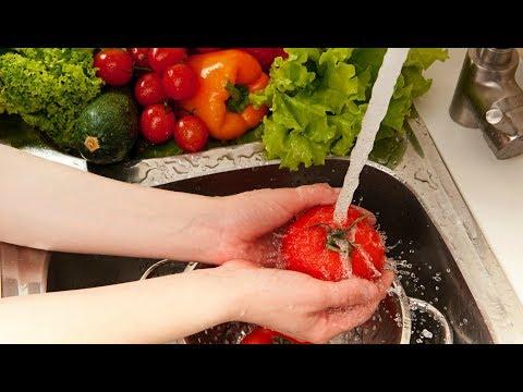 Вопрос: Как избавить продукты от остатка пестицида?
