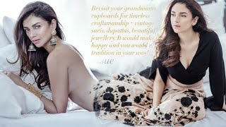 Hotness Alert! Aditi Rao Hydari Goes Topless For A Magazine