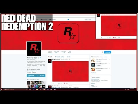 *NEW* RED DEAD REDEMPTION 3 *OFFICIALLY TEASED BY ROCKSTAR GAMES ON SOCIAL MEDIA!*