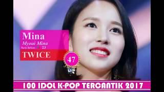 Video TOP 100 IDOL K POP TERCANTIK 2017 download MP3, 3GP, MP4, WEBM, AVI, FLV Maret 2018