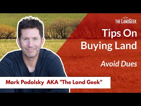 Tip#5 Buying a Property or Rural Land