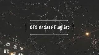 BTS Badasss Playlist - 1 hour of bts hype songs