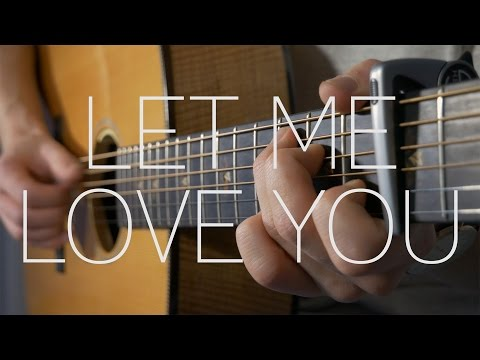DJ Snake ft. Justin Bieber - Let Me Love You - Fingerstyle Guitar Cover By James Bartholomew