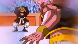Dragonball Gt majuub vs mr satan