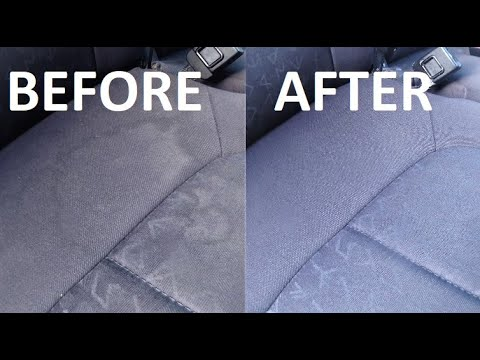 HOW TO CLEAN STAINED CAR SEATS BEFORE YOU SELL YOUR CAR