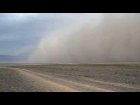 Sandstorm in the Gobi
