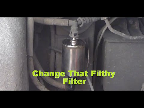 Holden Vz Commodore Change Your Fuel Filter Similar To Vt