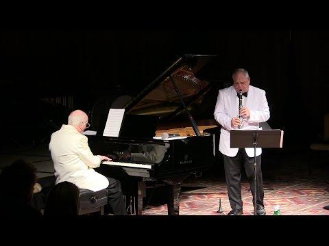 Ken Peplowski and Dick Hyman at Salishan Play