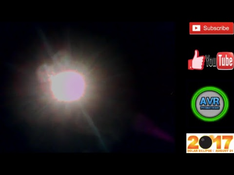SOLAR ECLIPSE 21st AUGUST 2017 LIVE FROM TRINIDAD