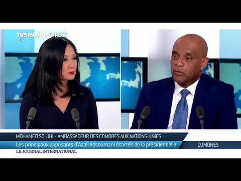 Présidentielles aux Comores : l'ambassadeur Mohamed Soilihi craint des dérives autoritaires