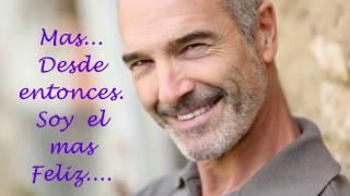 EL MAS FELIZ DEL MUNDO /JOSE  JOSE / CANTA...ISAAC / LETRA