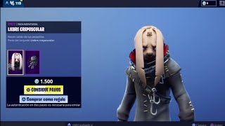 LE NOUVEAU FORTNITE STORE AUJOURD'HUI 20 AVRIL 'NEW SKIN' CRESPUSCULAR HARE ET 'NEW BAILE' ❤