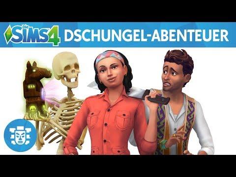 Die Sims 4: Dschungel-Abenteuer Youtube Video