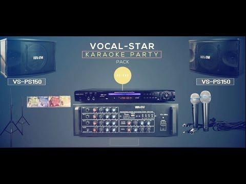 Vocal-Star Party Pack Karaoke Set