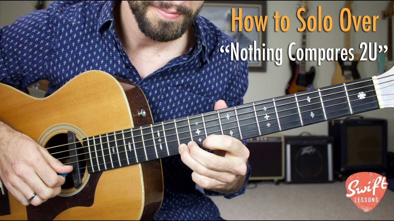Nothing Compares 2 U Guitar Soloing Lesson Chris Cornell Prince Youtube