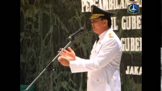 17 Des 2014 Gub Basuki T. Purnama melantik Wagub DKI Jakarta Djarot S.Hidayat - Cam 2/2