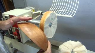 Woodturning: Three Stage Beall Buffing System Demonstration