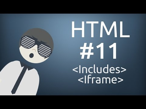 HTML For Beginner : How To Use Iframe And Include