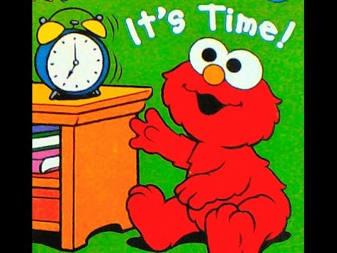 Its Time Preschool Book With Baby Elmo