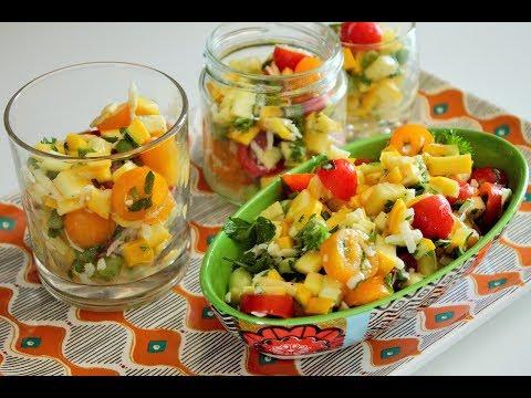 salade-legere-de-courgette-jaune-par-quelle-recette