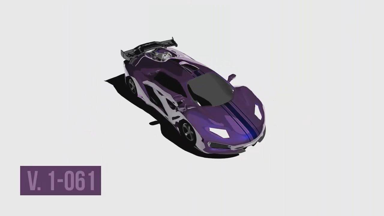 Cinema 4d Custom Lamborghini 3d Model Progression Youtube