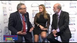 Javier Baranda entrevista a Ovidio de la Roza en el XVI Congreso de la CETM, Bilbao 2016