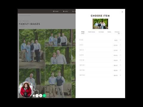 Placing your order in the Web Gallery: Shootproof tutorial