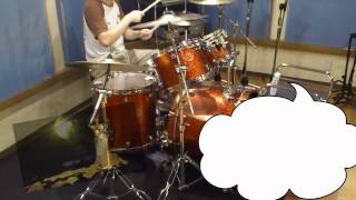 矢島美容室/メガミノチカラをドラムで演奏してみた