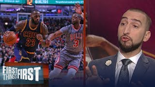 Dwyane Wade reportedly agrees to deal to join LeBron James in Cleveland | FIRST THINGS FIRST