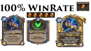 Sleeper OP Deck - 100% Win Rate (Odd Rogue) Europe  - The Boomsday Project: Hearthstone