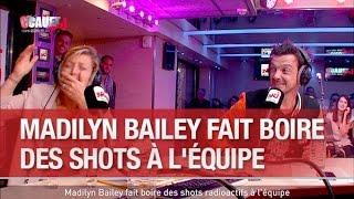 Madilyn Bailey fait boire des shots radioactifs à l'équipe - C'Cauet sur NRJ