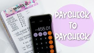 Budget With Me: Paycheck to Paycheck | March 2019