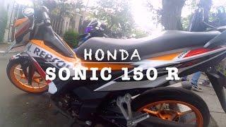 31 test ride honda sonic 150 r repsol edition ayago super tarik tarikan vs new vixion