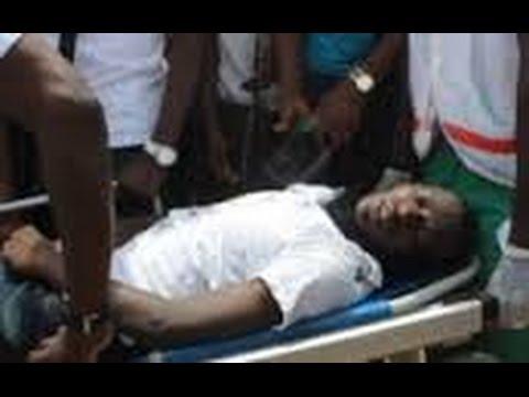 ON CAM -  Albert Ebossé getting killed algeria-Ebossé Camerounais de la js Kabylie tué en Algérie