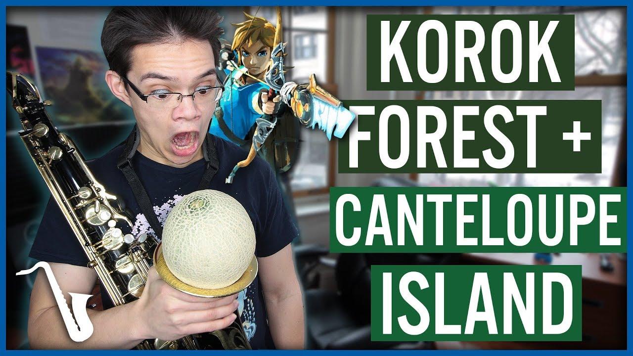 Korok Forest + Cantaloupe Island Jazz Mashup (Zelda Breath of the Wild)