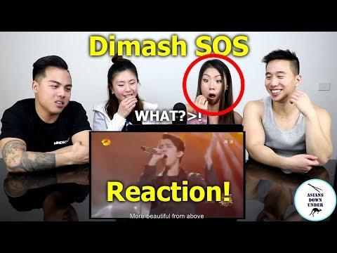 Dimash SOS d'un terrien en détresse | Reaction - Australian Asians
