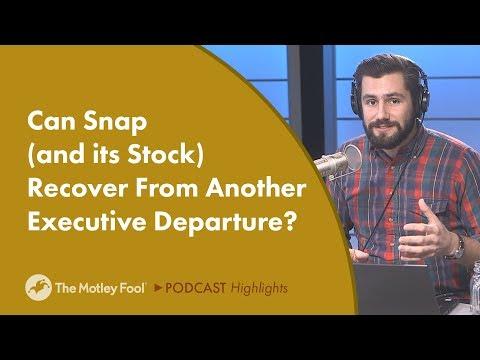 Digging Into Snap's CFO Departure