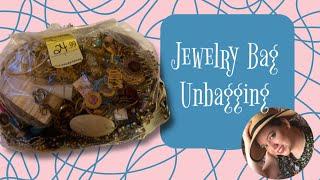 $24.99 Jewelry Bag / Jewelry Jar Unboxing Silver Vintage Jewelry (2019)