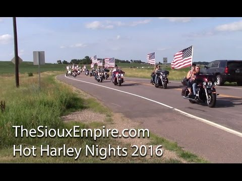 Full Parade, Hot Harley Nights 2016, Sioux Falls, South Dakota