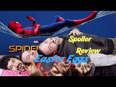 Spider-Man: Homecoming SPOILER REVIEW, EASTER EGGS, & REFERENCES DISCUSSION!