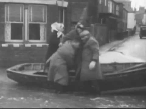 1953 Floods of East Anglia Norfolk and Suffolk Coast DVD clip