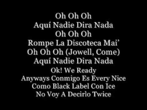 Bailando Fue Ft. Jowell y Randy (with Lyrics)