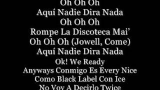 Bailando Fue Ft. Jowell y Randy (with Lyrics)