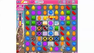 How to play Candy Crush Saga Level 50 - 3 stars - No booster