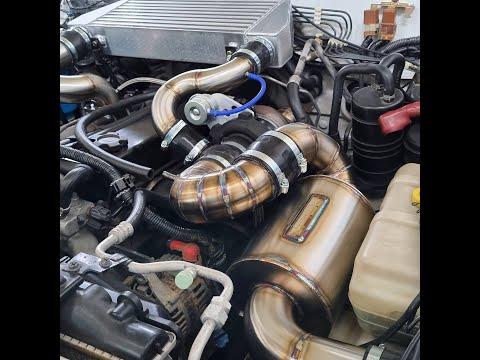 TD42 Nissan Patrol Garrett GTX turbo kit
